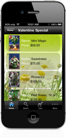 Flowersbyphone iPhone app